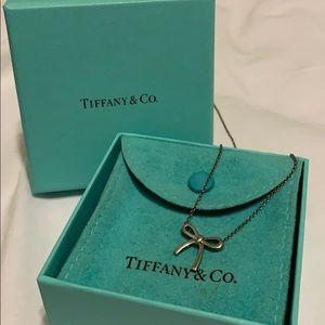 Tiffany Mini Bow Necklace